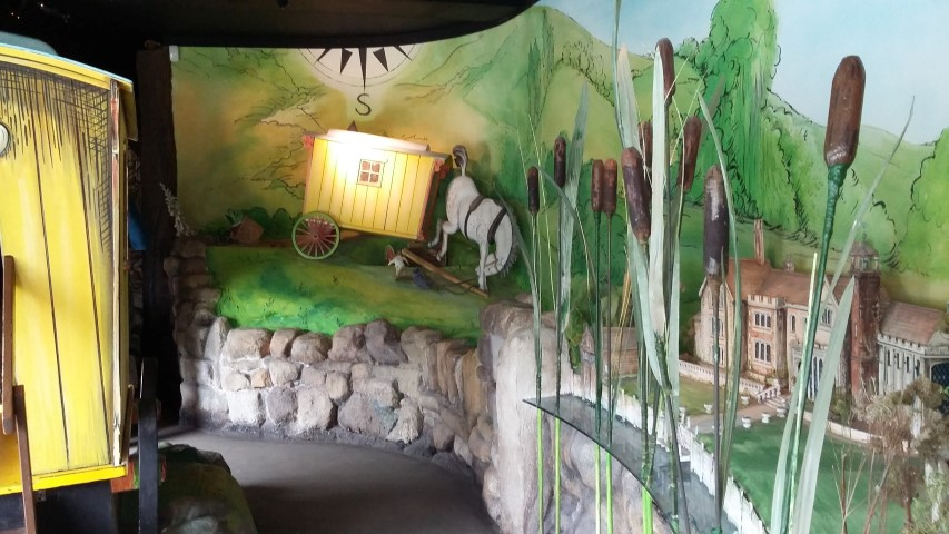 Wind in the Willows exhibition start