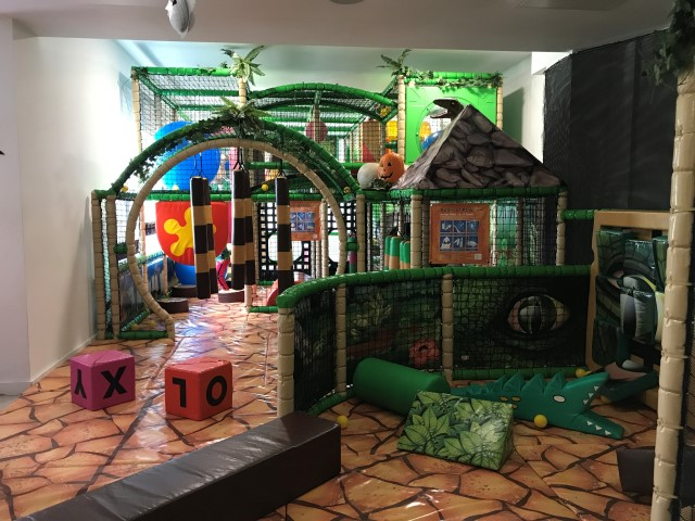 Dinosaur Adventure Golf indoor play area and cafe