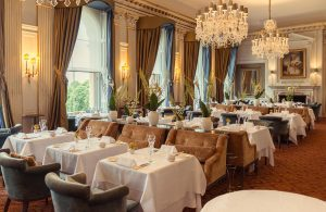 A mid week 7 course tasting menu meal for two at Cliveden House
