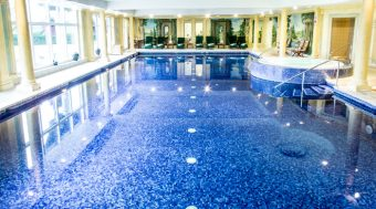 A spa experience day for two with a manicure at the Spa Illuminata Danesfield House
