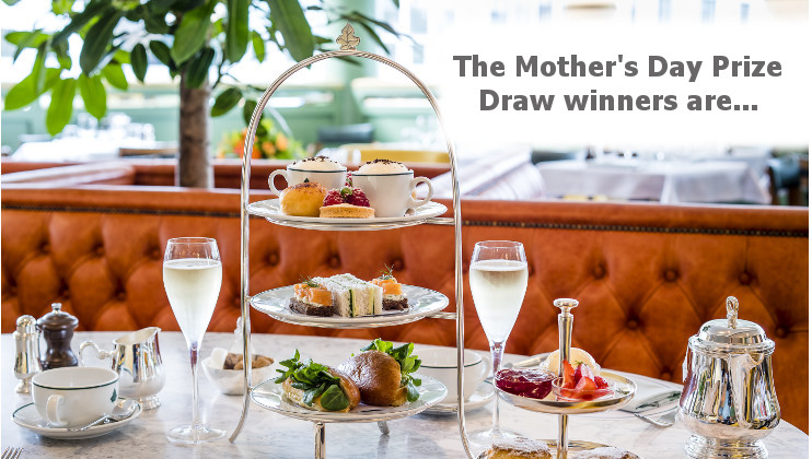 Mother's Day Prize Draw - the winners are announced!