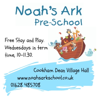 Noahs Ark ad for Marlow Mums