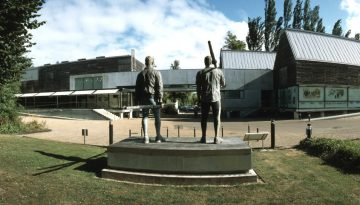 Museum exterior with Pincent and Redgrave_853x481