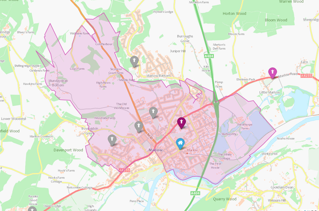FoxesPieceSchool_catchment_area