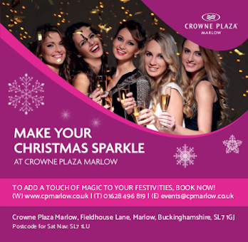 Christmas at the Crowne Plaza Marlow