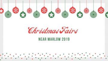 Christmas Fairs around Marlow 2019