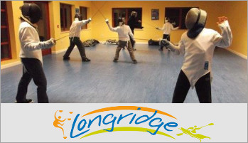 Fencing at Longridge activity centre Marlow