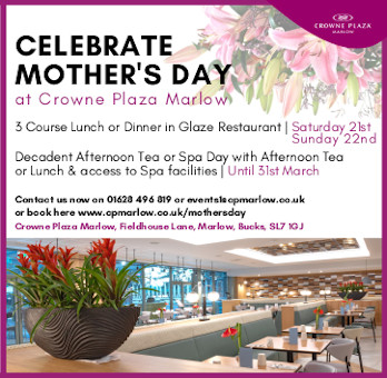 Crowne Plaza Marlow Mothers Day