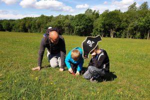 frieth village family walk field