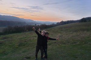 turville family walk woodland windmill