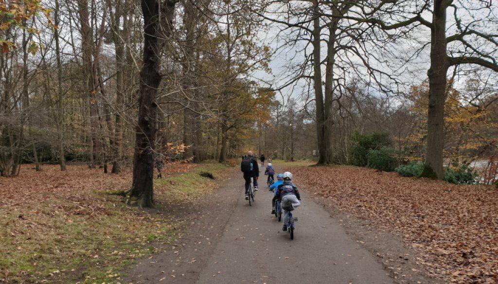 windsor park family bike ride