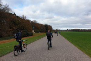 Windsor Park family bike ride guards