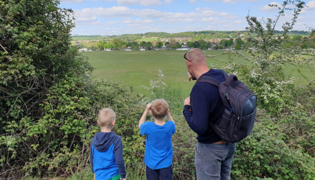 Winter Hill Golf Couse Family Walk Cookham