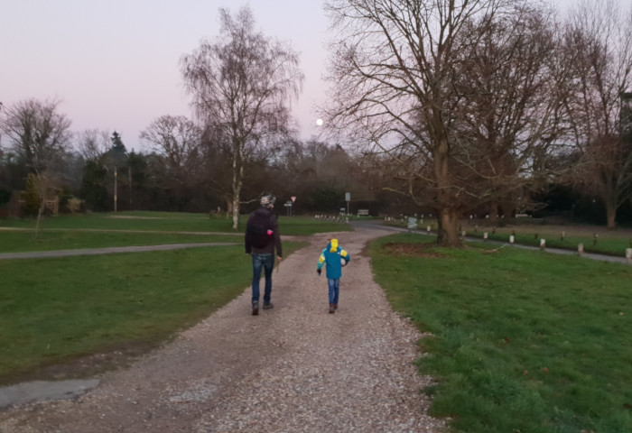 Marlow Family Walk in Bovingdon Green