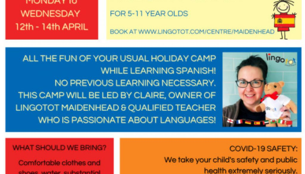 Lingotots Easter Holiday Camp