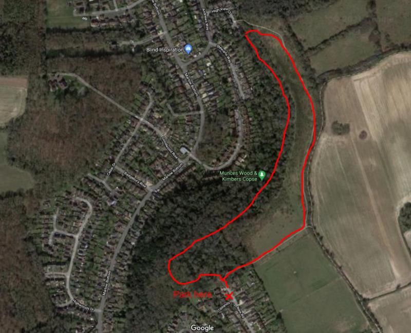 Munces wood family walk route