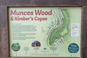 Munces Wood Family Walk Map