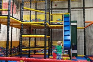 Willows activity farm inside soft play