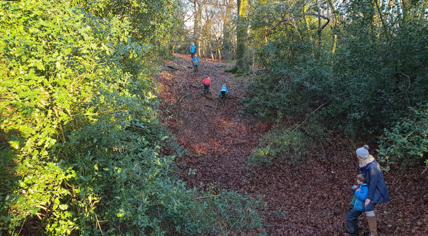 Moor end common route 2 family walk