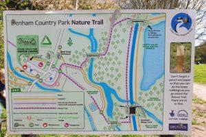 Denham Country Park Map