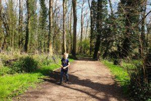 Denham Country Park Walking trail