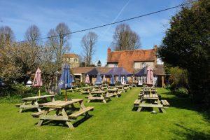 Fingest Hanger Wood Family Walk Pub Garden