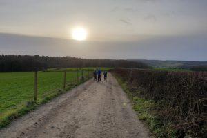 Moor End Common family walk path