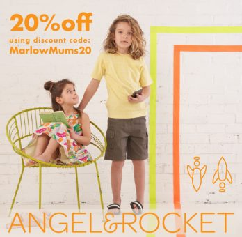 Angel and Rocket Marlow Special Discount