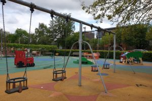 Henley Park Playground swings