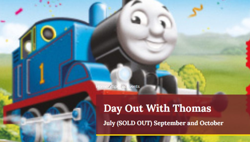 A Day Out with Thomas @Buckinghamshire Railway Centre