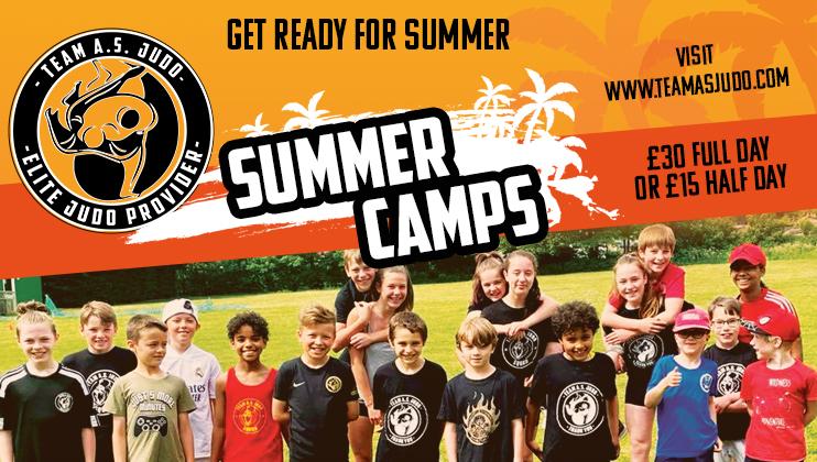 AS Judo summer camps