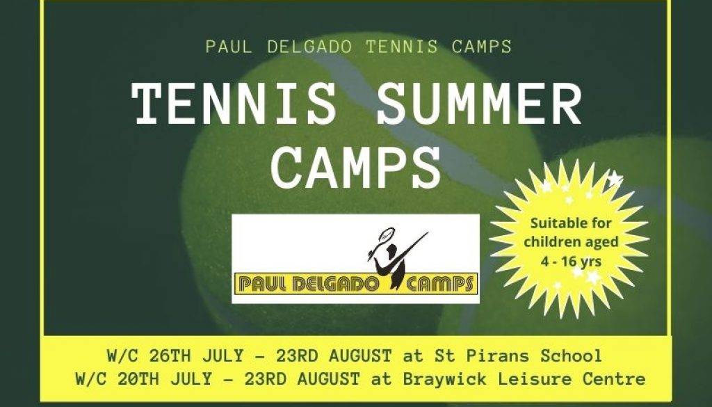 Living Tennis summer holiday tennis camps